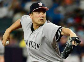 NY Yankees Masahiro Tanaka on the mound against the Tampa Bay Rays at Tropicana Field in St. Petersburg, Florida. (Image: AP)