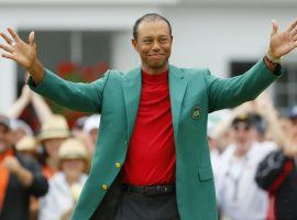Tiger Woods won the Masters, but is still fetching 100/1 odds to win the 2019 Grand Slam. (Image: Getty)
