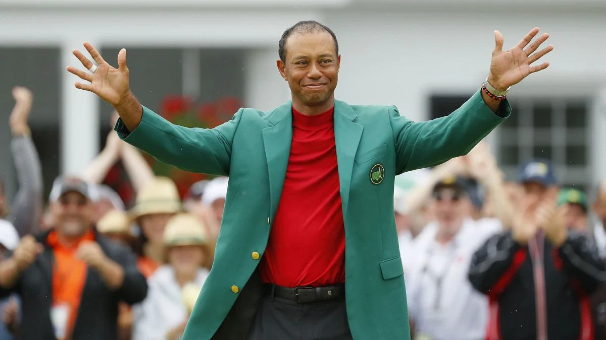 Tiger Woods Grand Slam