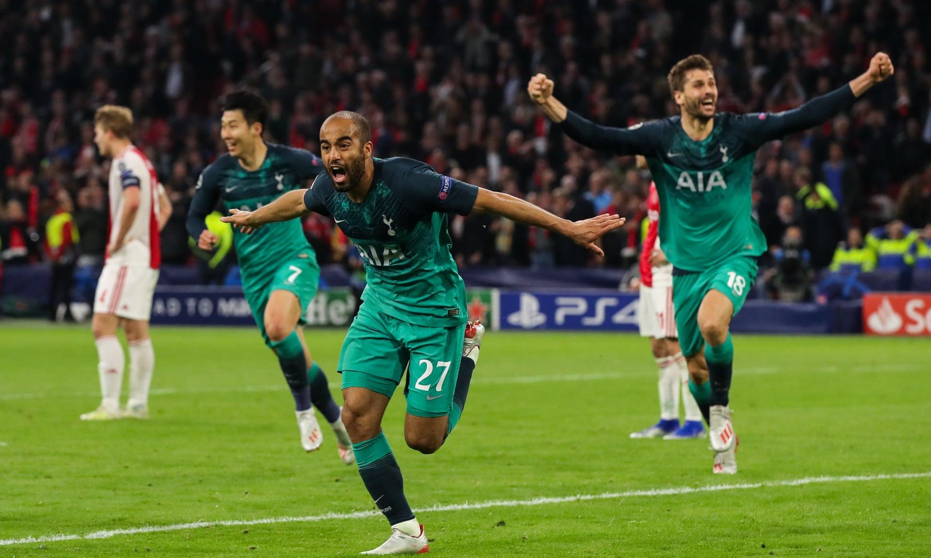 Tottenham Ajax Champions League