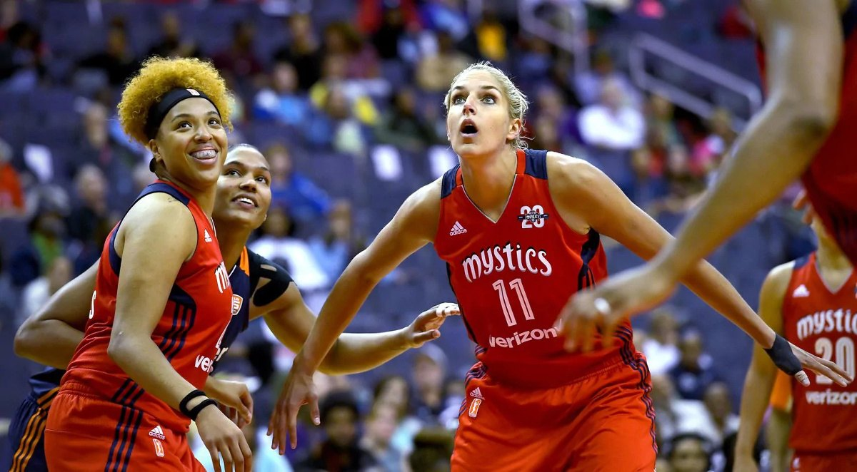 Washington Mystics WNBA 2019