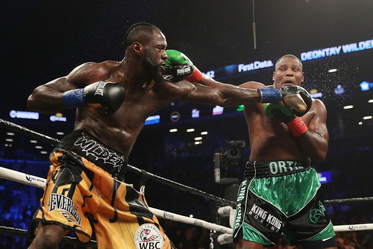 Deontay Wilder Ortiz rematch