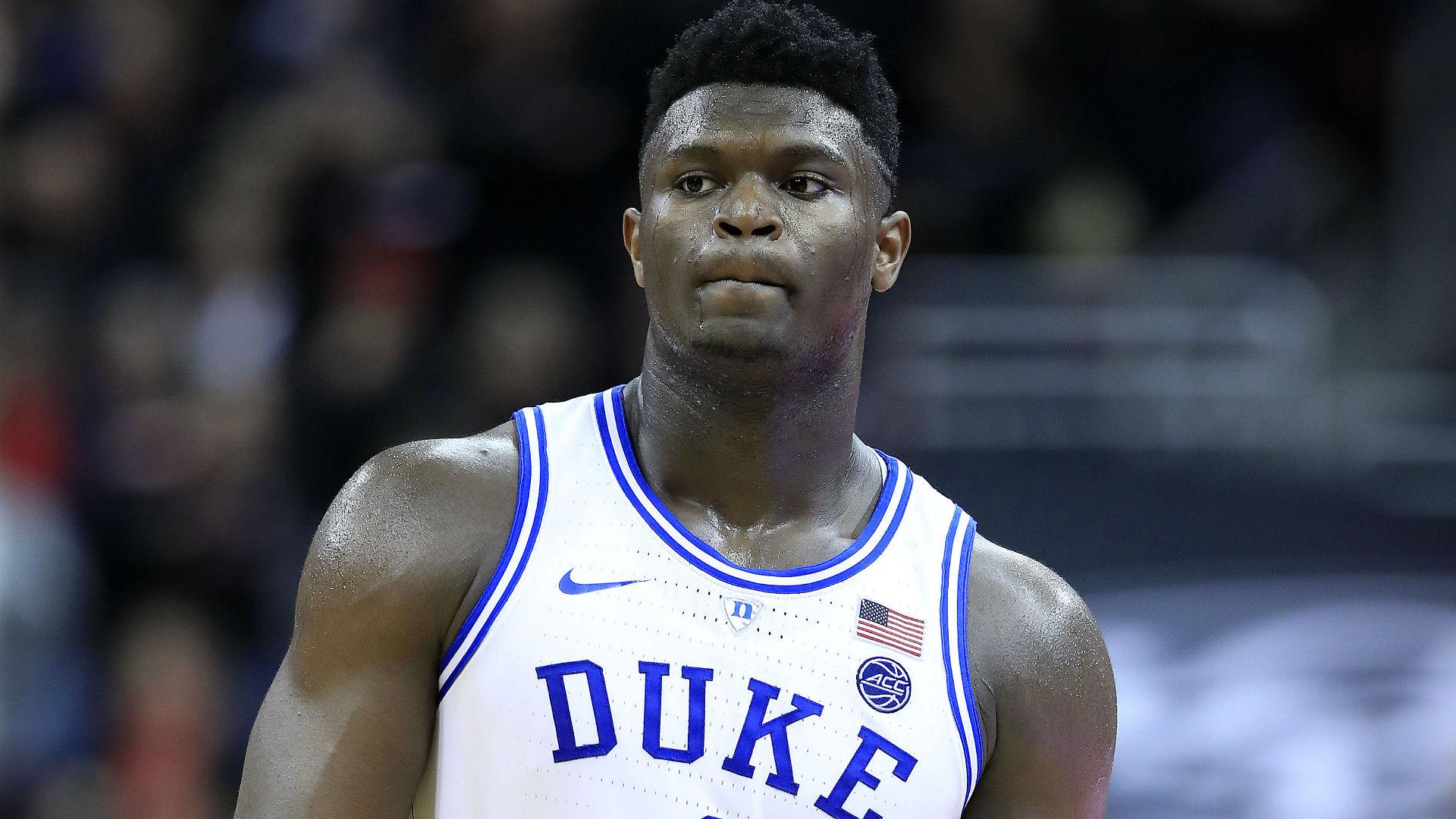 Zion Williamson Duke draft