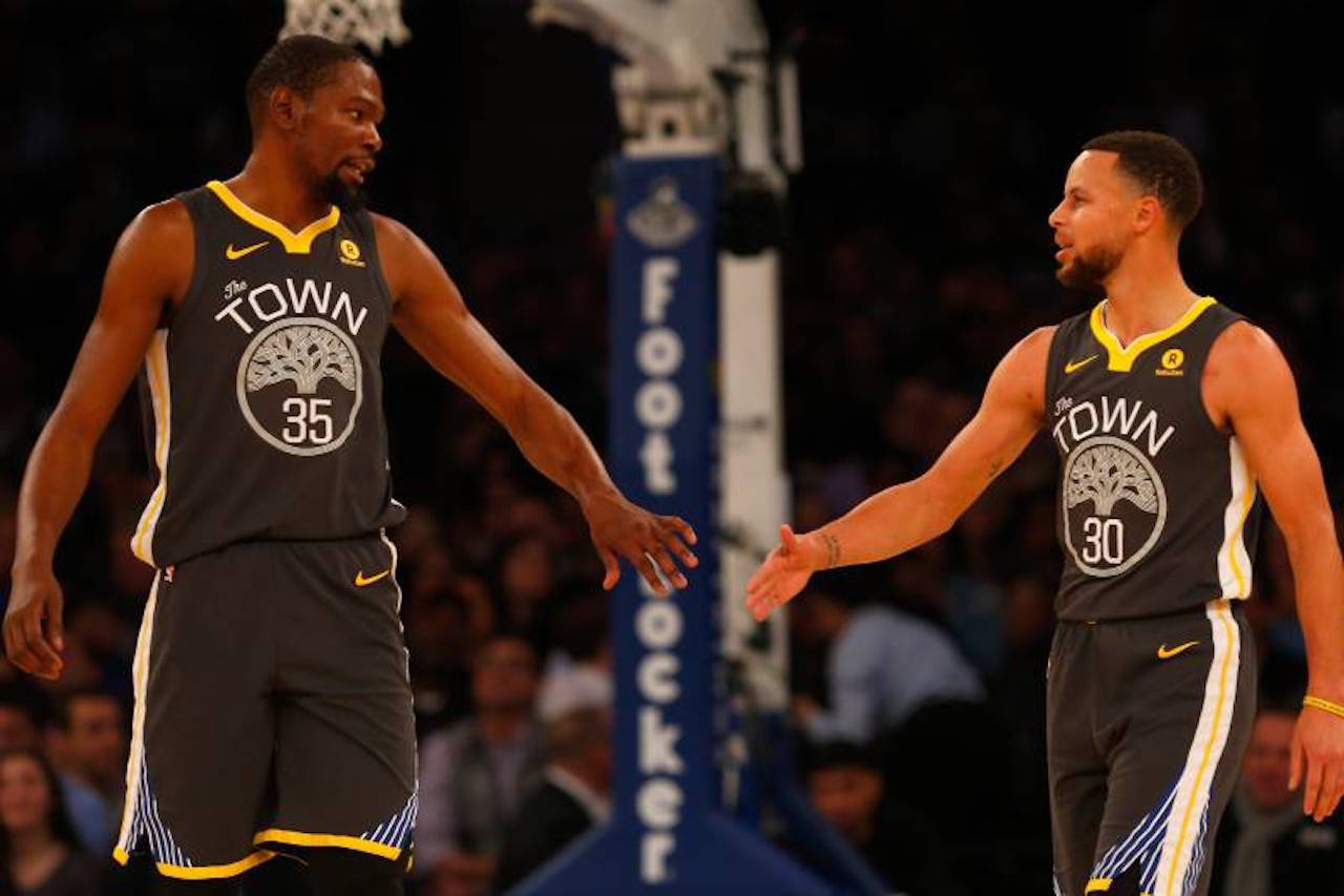 Kevin Durant, Steph Curry