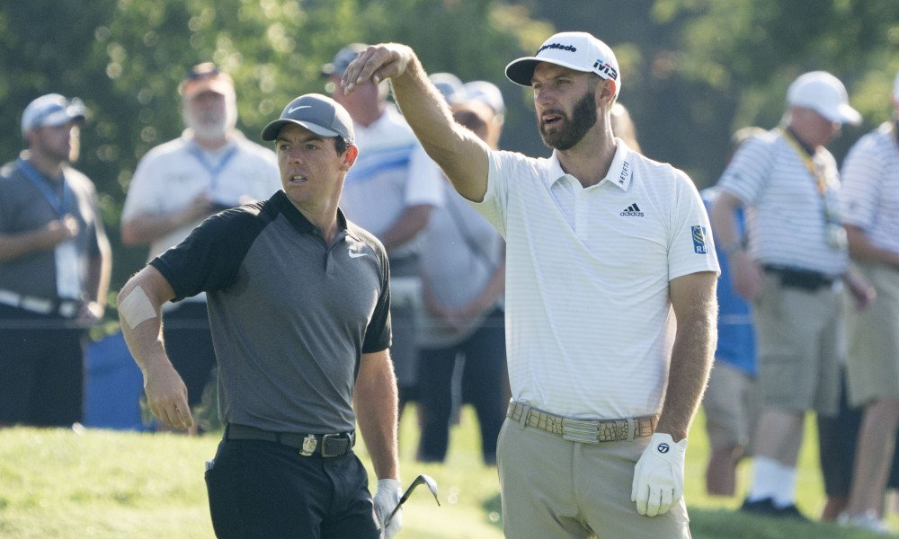 Rory McIlroy, Dustin Johnson