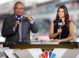 Mike Tirico and Danica Patrick led NBC's pre-race coverage of the Indy 500. (Image: Forbes)