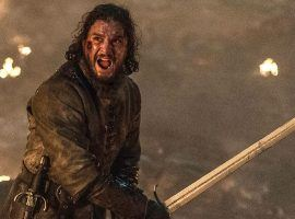 """Jon Snow defending Winterfell during """"The Long Night"""" on """"Game of Thrones"""". (Image: HBO)"""