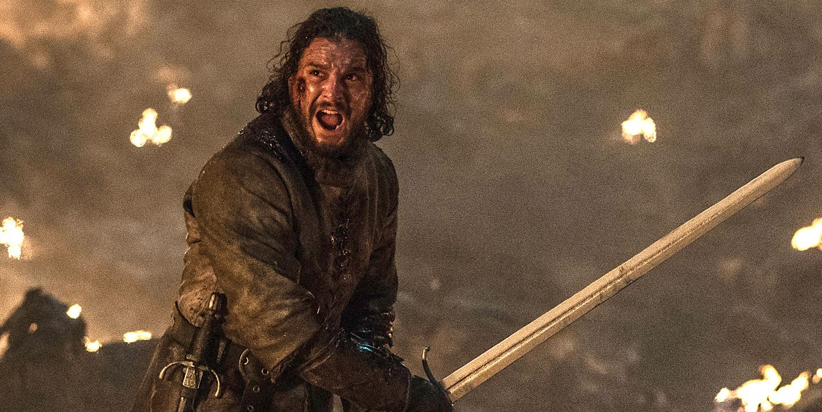 Jon Star Battle Winterfell Game of Thrones