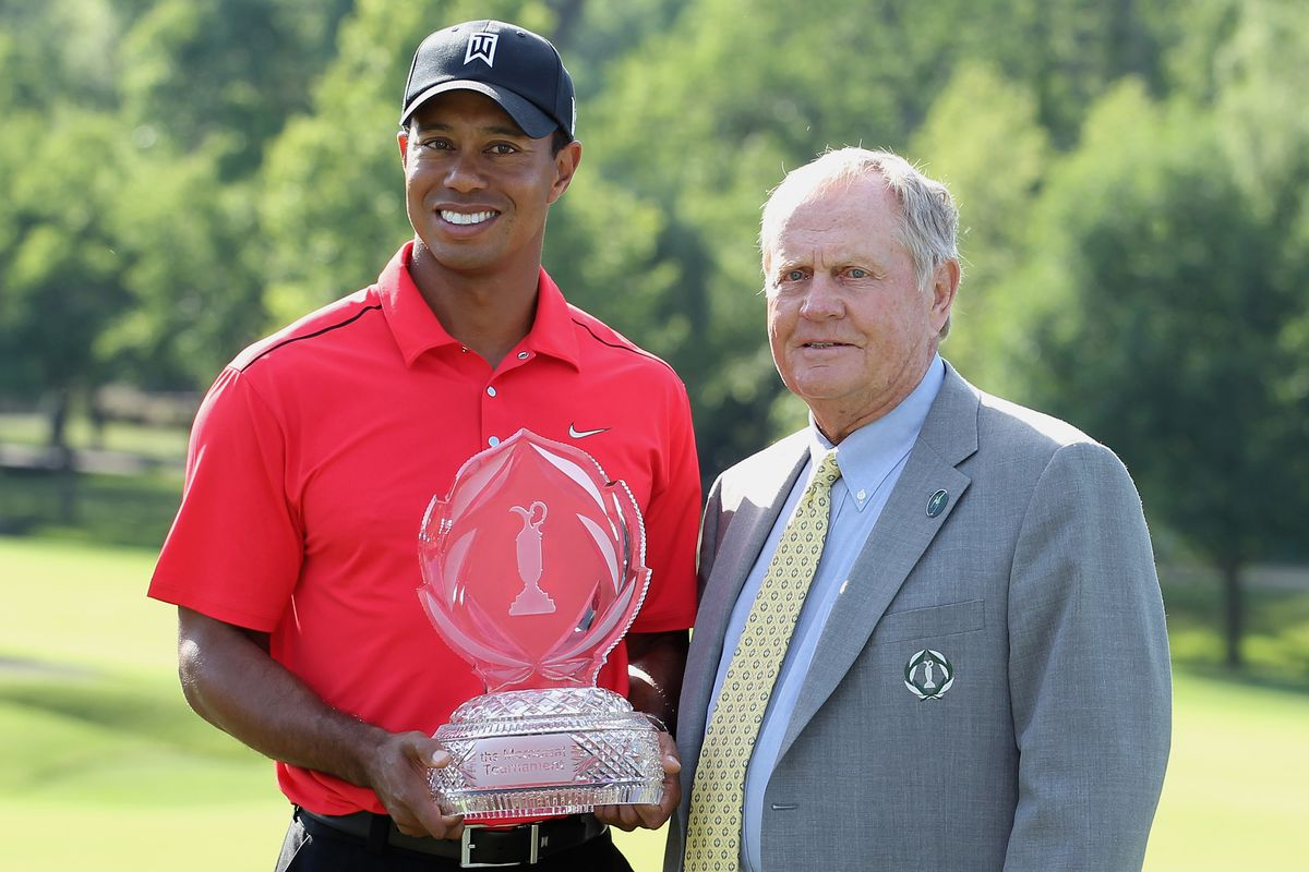 Jack NIcklaus, TIger Woods