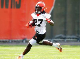 Cleveland Browns running back Kareem Hunt addressed the media on Wednesday and said he is sorry for his actions that triggered the eight-game suspension. (Image: Cleveland Browns)