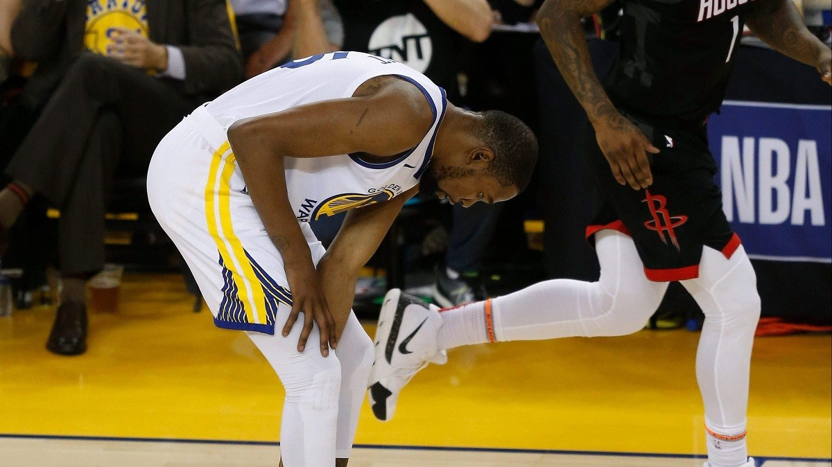 Kevin Durant Warriors injured