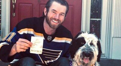 St. Louis Blues fan Scott Berry Looking at $100,000 Payday