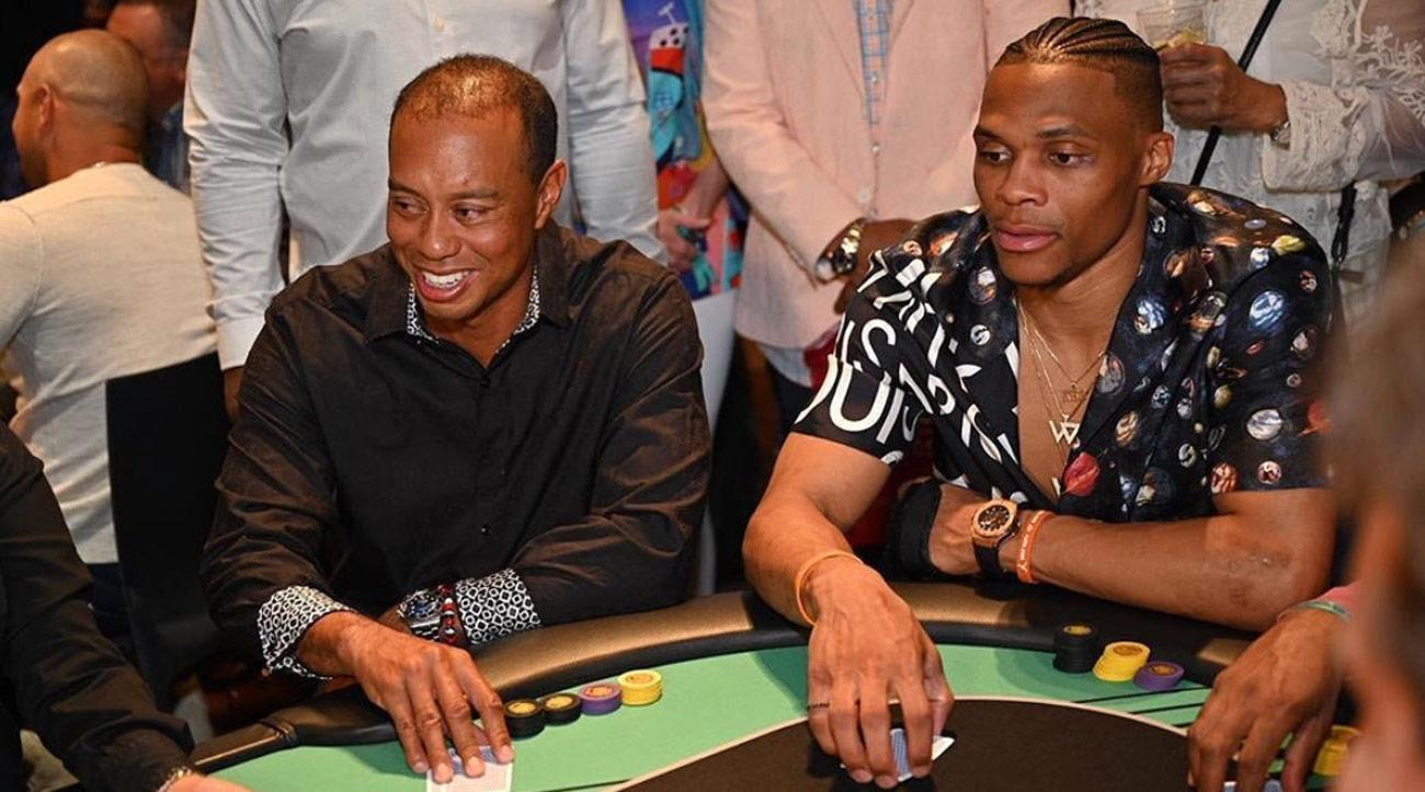 TIger Woods, Russell Westbrook