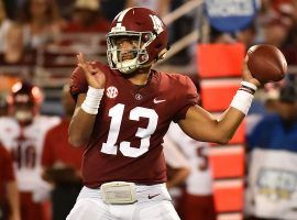 Alabama quarterback Tua Tagovailoa is the overwhelming 1/2 favorite to be the No. 1 pick in the 2020 NFL Draft. (Image: USA Today Sports)