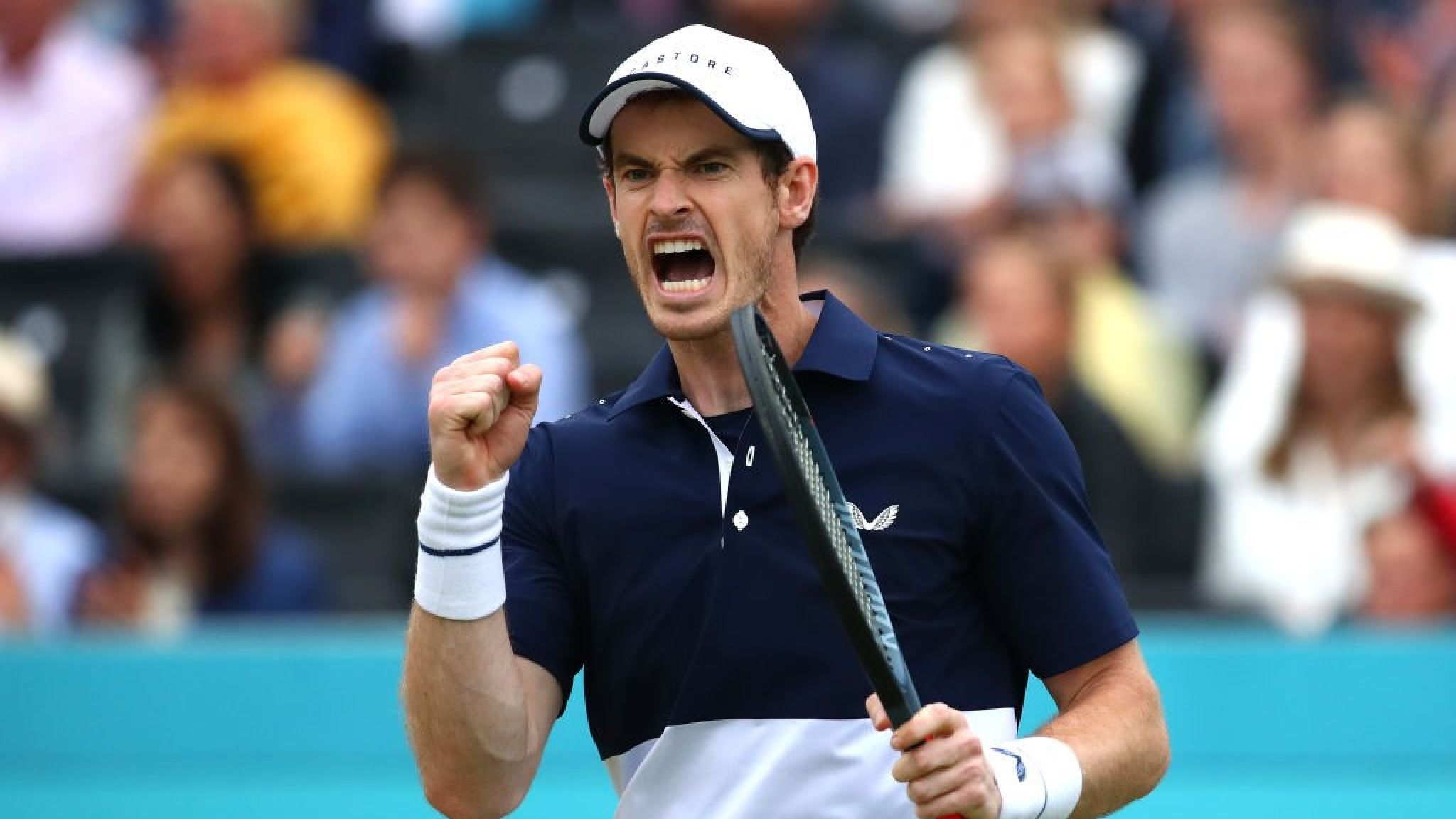 Andy Murray doubles comeback