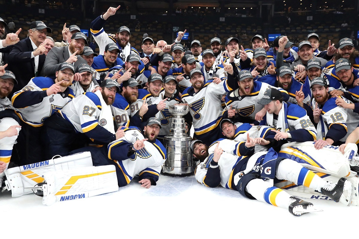 St. Louis Blues Win Stanley Cup