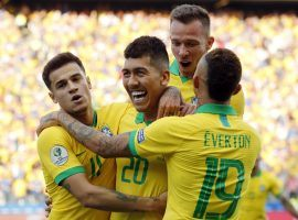 Brazil remains the favorite at Copa America after breezing through the group stage. (Image: Victor R. Caivano/AP)