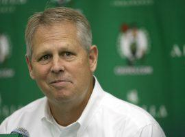 Celtics team president Danny Ainge at a press conference in Waltham, MA in 2019. (Image: Tara Carvalho/Getty)