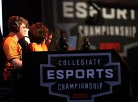 The Collegiate Esports Championship, held last month, will be considered ESPN's first EXP event. (Image: Gabriel Christus/ESPN)