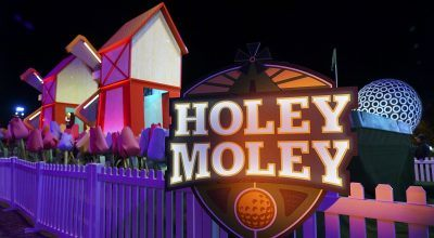 Steph Curry Produces Trippy Mini-Golf Reality TV Show 'Holey Moley'