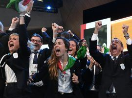 Italy will play host to the 2026 Winter Olympics after a Milan-Cortina bid beat out one from Stockholm-Are. (Image: Philippe Lopez/AFP/Getty)