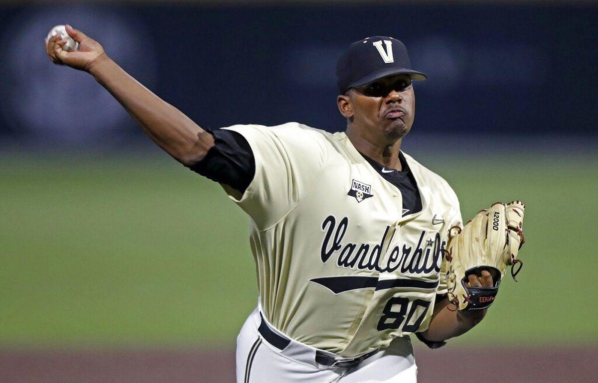 Kumar Rocker ho hitter Vanderbilt