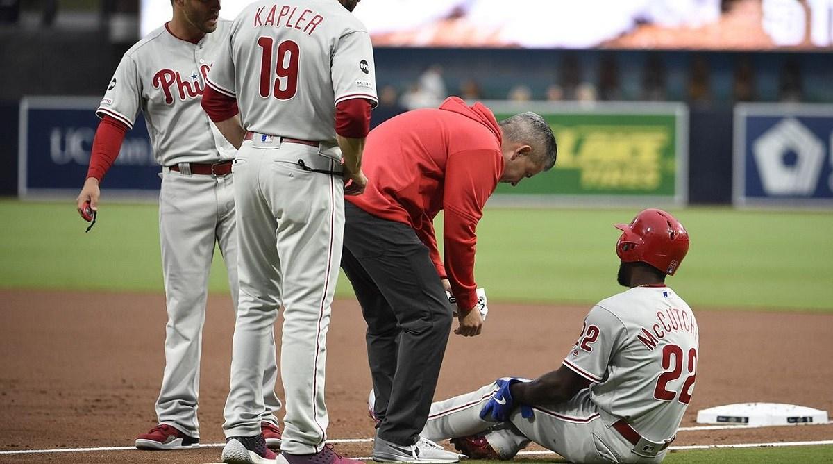 McCutchen Phillies Injury