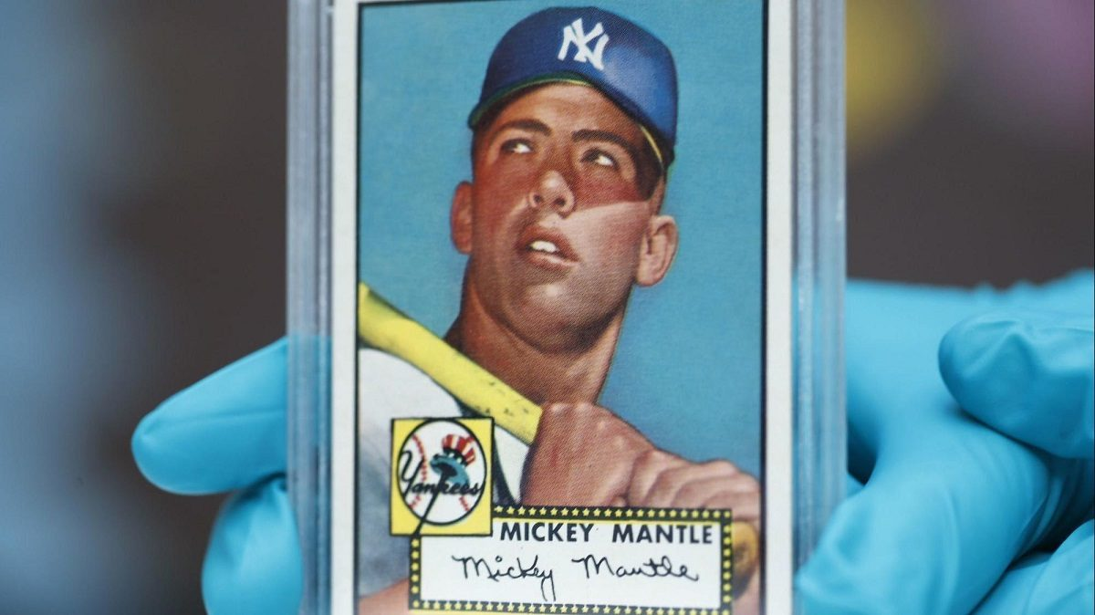 Mickey Mantle Pete Rose Babe Ruth Are Most Expensive