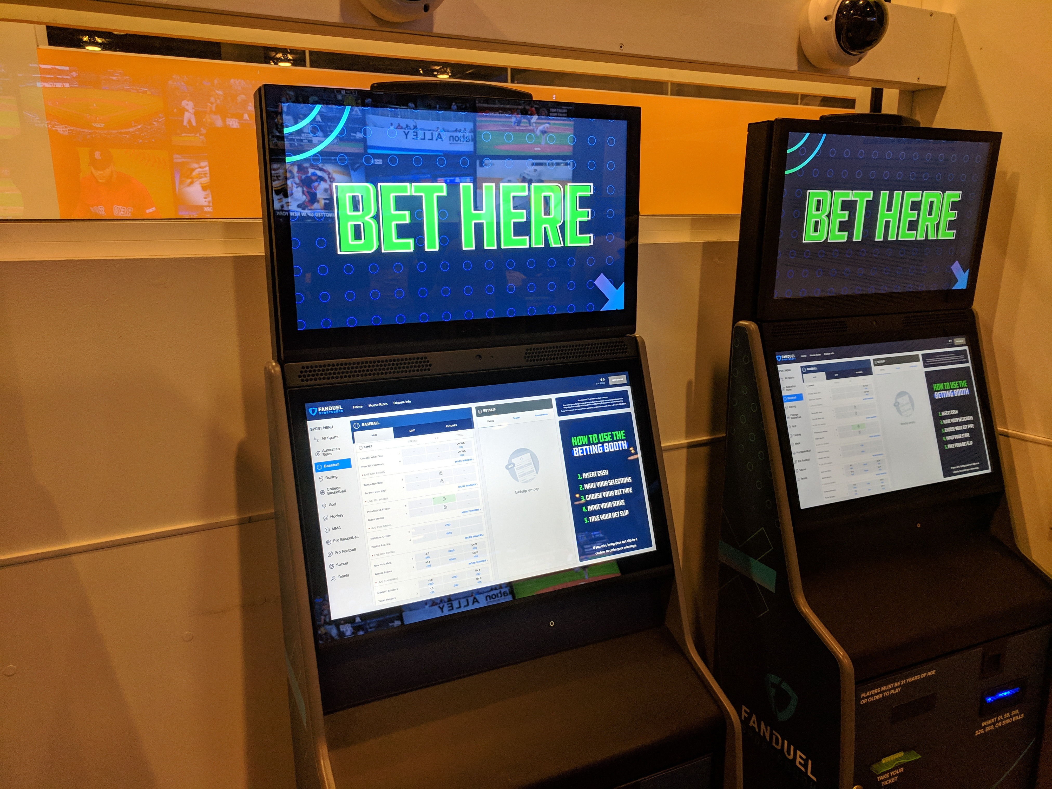 Sports betting New York