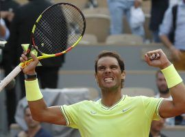 Rafael Nadal had his way with Kei Nishikori, winning in straight sets to reach the French Open semifinals. (Image: Pavel Golovkin/AP)