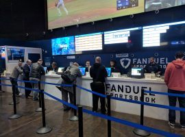 New Jersey surpassed Nevada in monthly sports betting handle for the first time in May. (Image: Ed Scimia/OnlineGambling.com)
