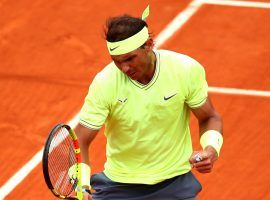 Rafael Nadal overcame an early challenge from Dominic Thiem to win his record 12th French Open title. (Image: Getty)