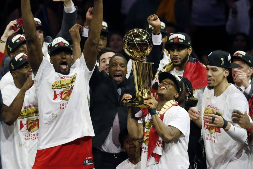 Toronto Raptors NBA champs