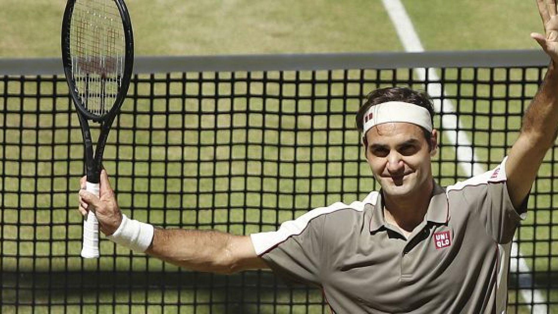 Federer Halle Open 2019