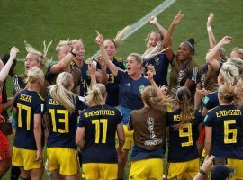 Sweden scored a 2-1 upset win over Germany to reach the Women's World Cup semifinals and qualify for the 2020 Summer Olympics. (Image: Benoit Tessier/Reuters)