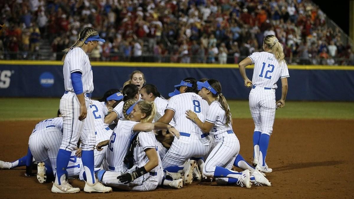 UCLA World Series softball
