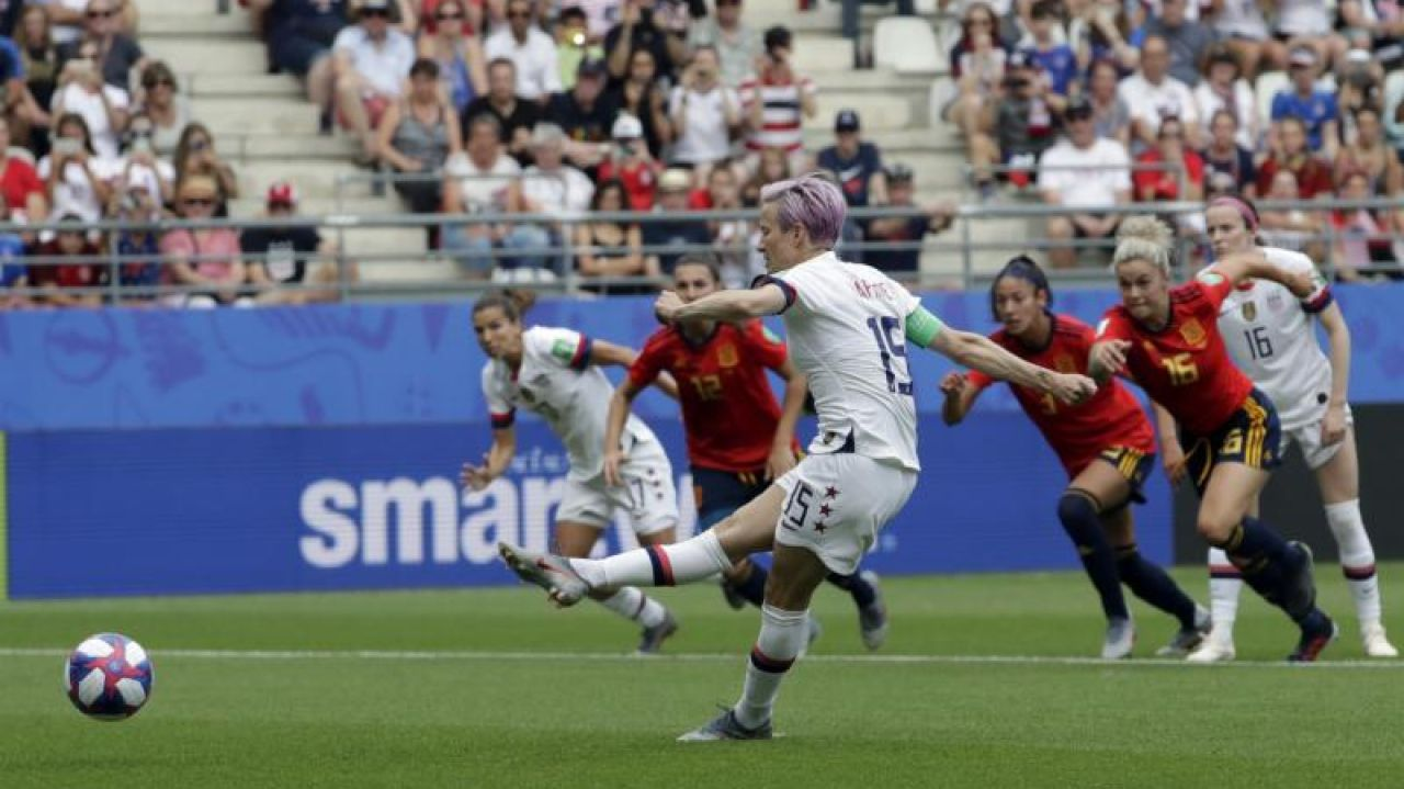 Women's World Cup USA Spain