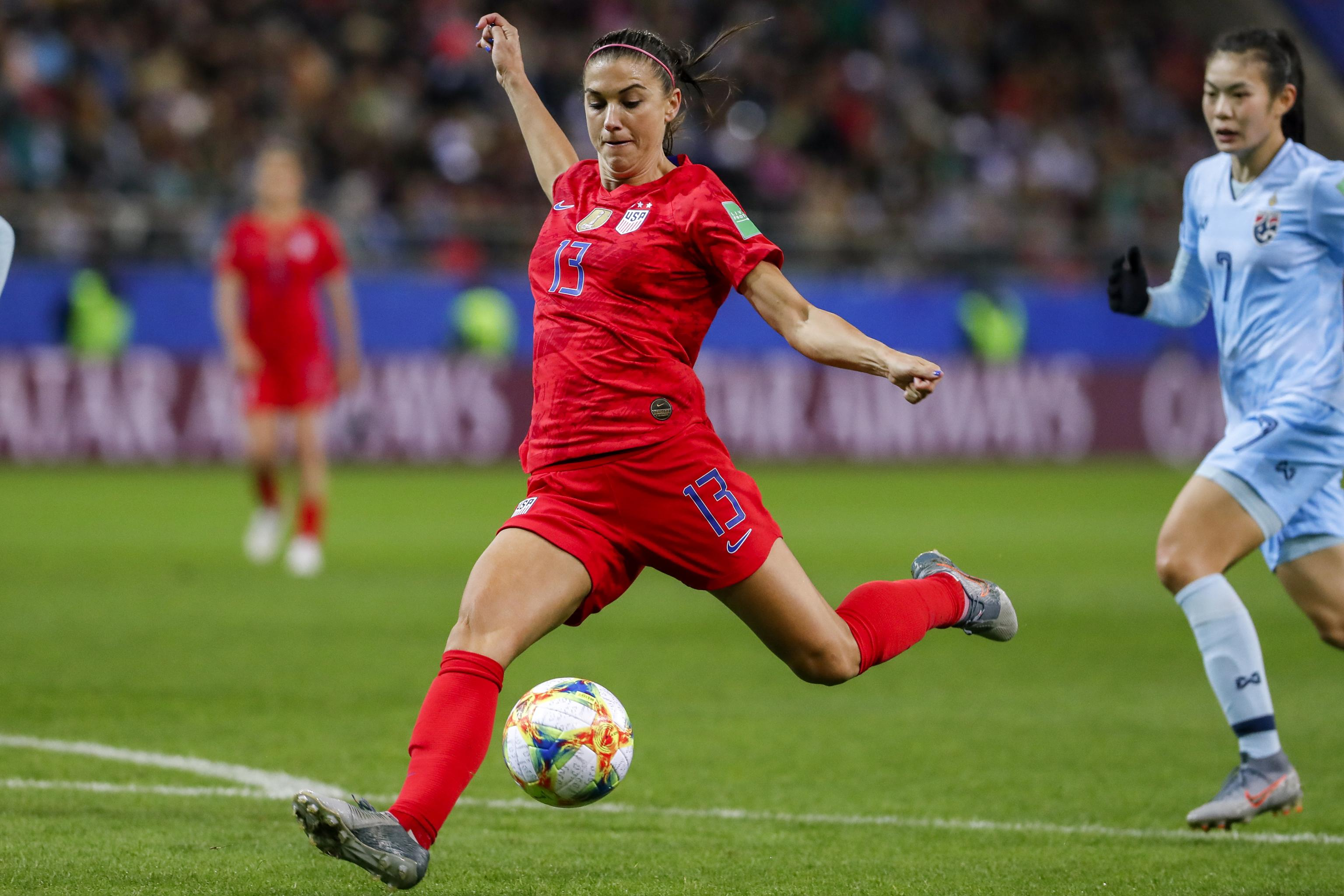 Women's World Cup USA Chile