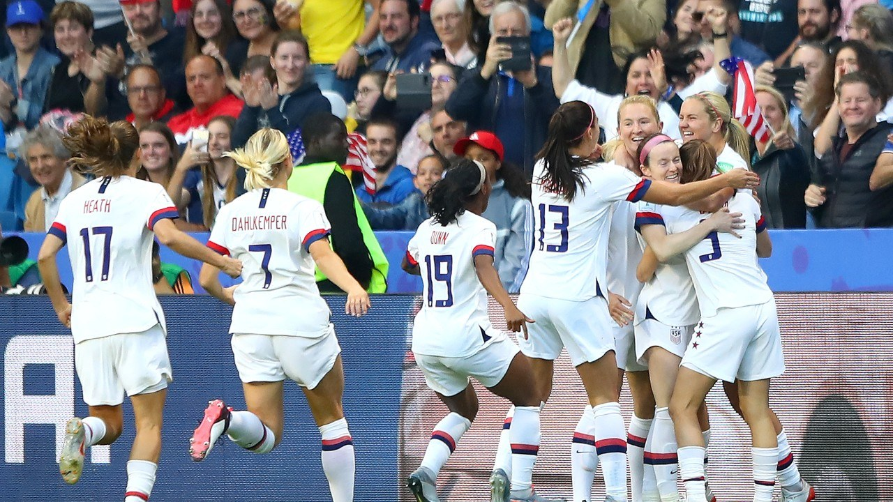 USA Women's World Cup Spain