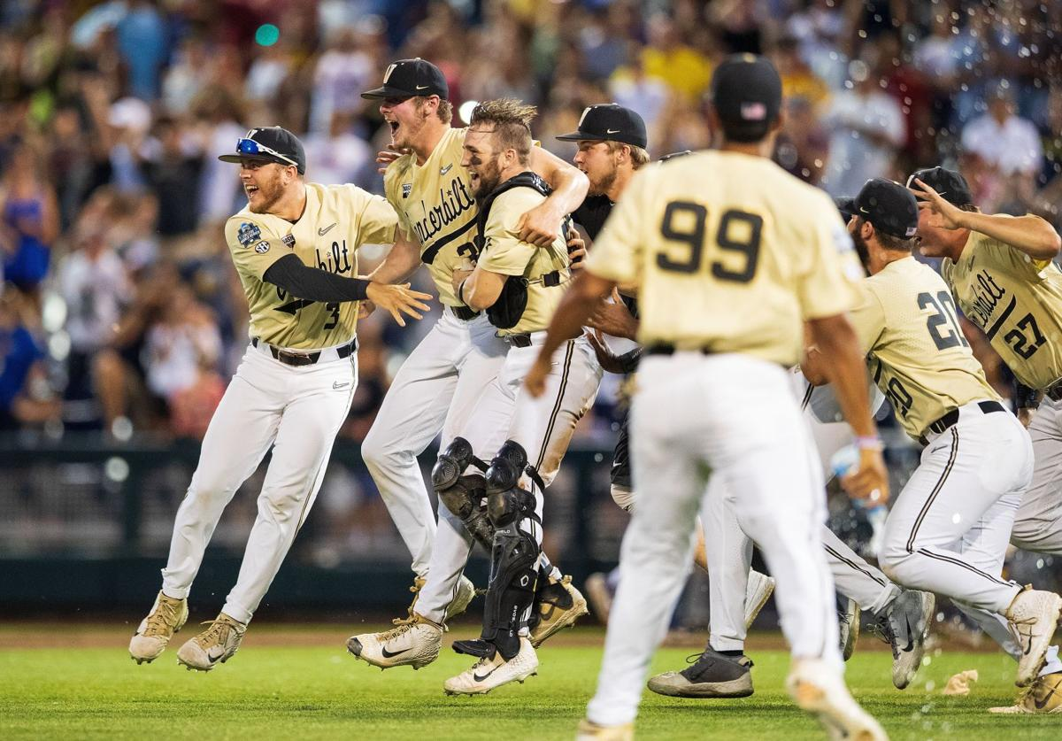 Vanderbilt College Baseball World Series