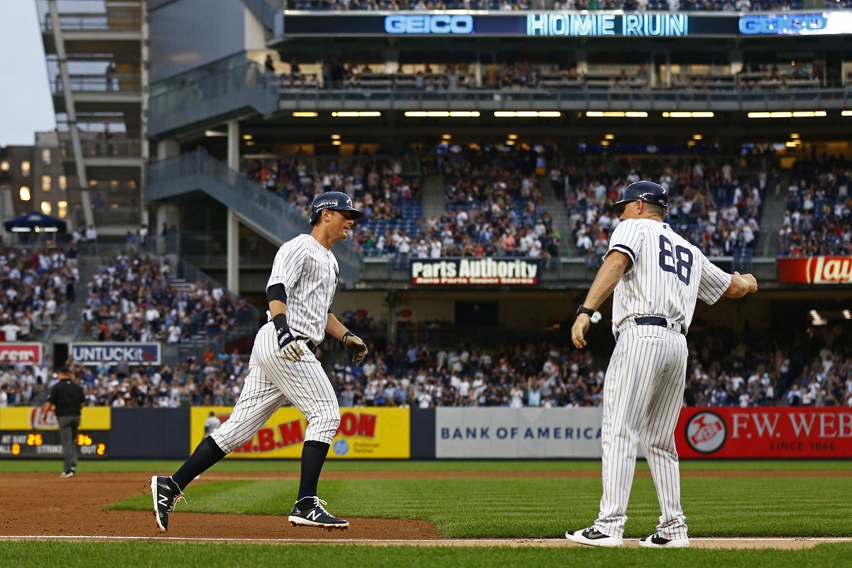 Yankees home run streak
