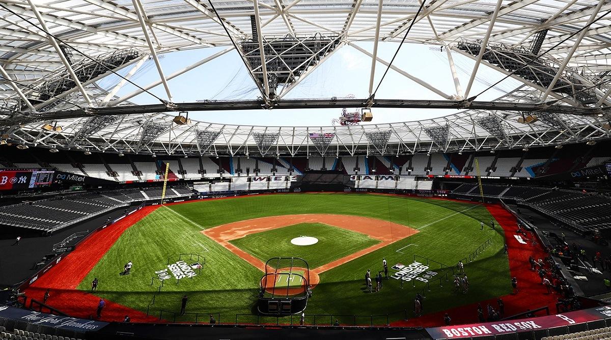 Yankees Red Sox London Stadium
