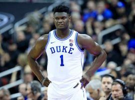 Zion Williamson TK TK of Duke TK. (Image: Andy Lyons/Getty)