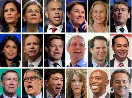 Presidential Race 2020: Seeking Data to Handicap Betting on Democrats