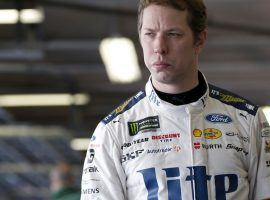 Brad Keselowski is yearning to win at Michigan International Speedway where he grew up, but so far has not been able to capture the checkered flag there. (Image: Matthew T. Thacker/ LAT Images)