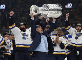 JSt. Louis Blues coach Craig Berube led his team to the Stanley Cup Championship, and was rewarded with a three-year contract. (Image: USA Today Sports)