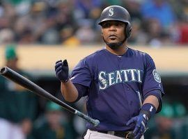 DH Edwin Encarnacion with the Seattle Mariners earlier this season at Safeco Park in Seattle. (Image: Getty)