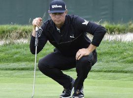 JGary Woodland is known for being a bomber on the golf course, but it is his putting that has put him in the lead of the US Open after two rounds. (Image: USA Today Sports)