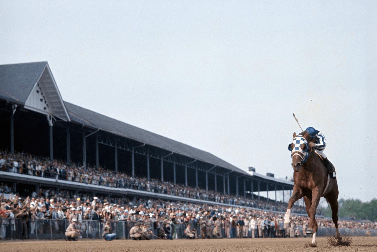 Secretariat, Belmont Stakes