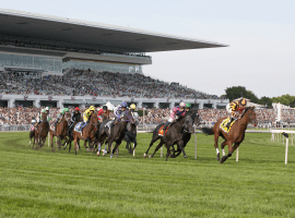 Horse racing getting a needed boost from newly passed gambling expansion in Illinois. ((Image: Arlington Park)